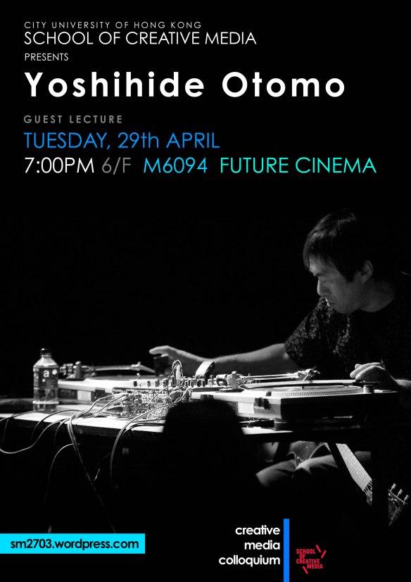 Yoshihide Otomo poster web